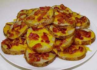 Bacon Potato Rounds