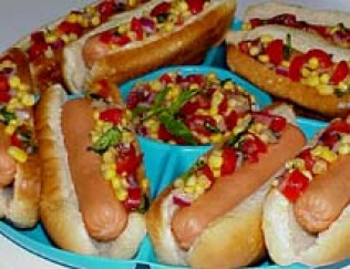 Zeigler Corn Relish Hot Dogs